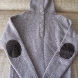 продам стильный свитер, шерсть 80%. размер 6/8