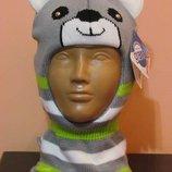 Шапочка-Шлем,размер 44-46,Польша,подкладка-флис.
