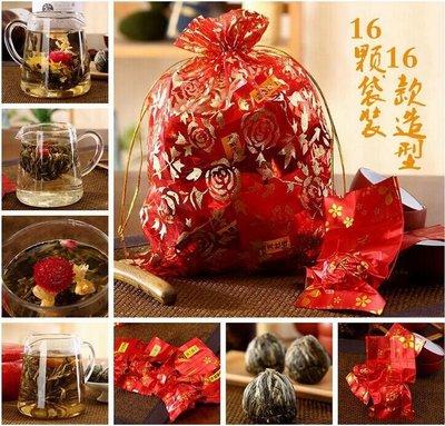 Связанный чай. Набор 16 шт. Подарок на любой праздник и на 8 марта