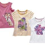 Комплект футболок на девочку, 110-116р.Германия.