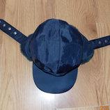 Фирменная зимняя шапка для подростка 10-13 лет, 58 см