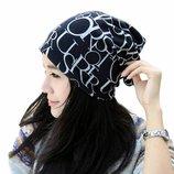 шапка-шарф 3 в 1 ХИТ шапка женская