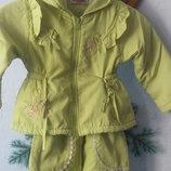 Детский осенний костюм штаны и куртка