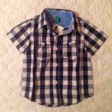 Новая. Рубашка, шведка Benetton на 2-3 года. Оригинал.