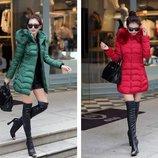 пуховик женский ХИТ зимняя куртка