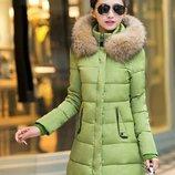 пуховик женский Хит куртка женская теплая зимняя пуховик