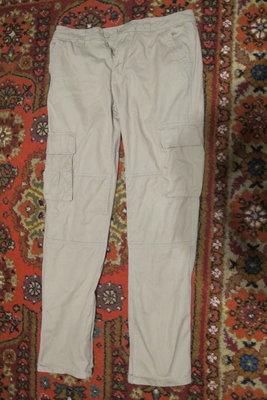 Отличные х/б брюки - карго цвета койот Denim Co. Англия. 32/34.