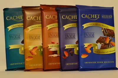 Премиум шоколад CACHET 300 грамм, Бельгия Бесплатная доставка по Киеву