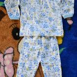 пижамки,комплекты с начесом малышам
