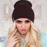 Зимняя женская шапка - колпак. «ЛИБЕРТИ».