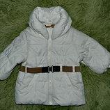 шикарная куртка пуховик 4-6м.