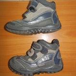 Ботинки демисезонные кожа, замш, 27 р. 17 см Bamatex