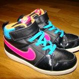 Демисезонные ботинки сникерсы Nike р. 28,5-29 18 см по стельке