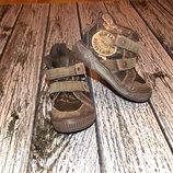 Фирменные демисезонные ботинки для мальчика, размер 25 14,5 см