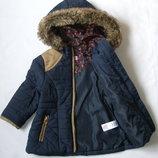 Стеганная куртка F&F демисезонная для девочки 18-24 мес