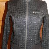 Італійська шкіряна куртка Gloria e Olivia Dal Porto