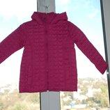 Демисезонная стеганная куртка Topolino на девочку 3-5лет 104, 116см