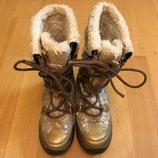 Сапожки сапоги теплые Geox 28 размер, 18 см стелька, еврозима