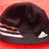 Двойная шапка мальчику,мужчине Adidas