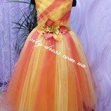 карнавальное платье -экслюзив осень прокат