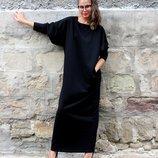 Свободное платье-мешок все размеры Авторская студия одежды f&f