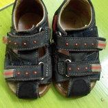 Кожаные босоножки сандалики на мальчика 21 р-р 13 см Keelback