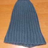 Демисезонна фирменная шапка для девушки, 56 см