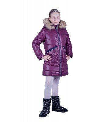 Куртка зимняя Аляска, новинка зима, для девочек 134-164 см