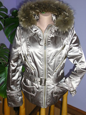 Купить Зимний молодёжный пуховик Snow Owl 100 цвета пудра с ... | 400x300