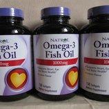 Омега 3 рыбий жир с лимонным вкусом 150 капсул х 1000 мг