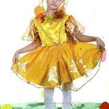 Костюм листочка для дівчинки, осінь листик, листочек, листочок, осень - Позняки