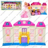 Домик для куклы 8602-2 М 8 дача, свет, звук, в кор-ке