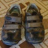 ботинки коричневые кожаные Bama Размер 25 стелька 15,5 см.