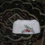 Шапка зимняя вязаная из шерсти