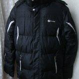 Куртка мужская зимняя очень теплая пуховик р.М 48-50 3906