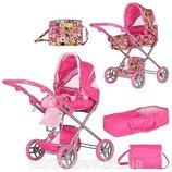 Детская коляска для кукол 9333