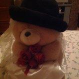 Отличная фетровая шляпа , состояние новой 56-58 Франция