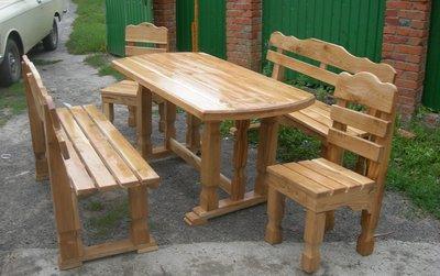 Садовая мебель, наборы садовой мебели, столы скамейки