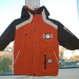 Зимняя термокуртка Kiki&koko р. 98-104 , 3-4 года Отличное состояние