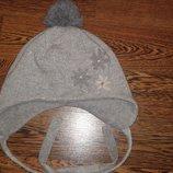 Шапка на флисе, 52-54 размер