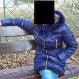 Женская зимняя куртка на холлофайбере р.46