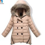 пуховик детский на девочку ХИТ куртка зимняя