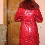 Пальто шкіряне італійське Vera Pelle