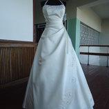 Свадебное платье ,новое, 2,46-48р.р.