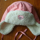 Зимняя шапка 3-6 лет, на меху.