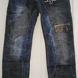 Мужские джинсы молодежные осень плотные пояс 78-88см