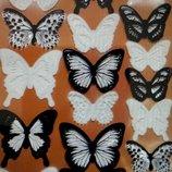 3D Бабочки-Наклейки высокого качества для украшения дома