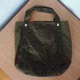 сумочка сумка женская большая тканевая H&M НМ тканевая
