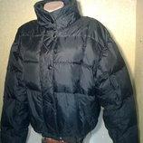 Куртка дутая пуховая размер М фирмы French Connection, б/у