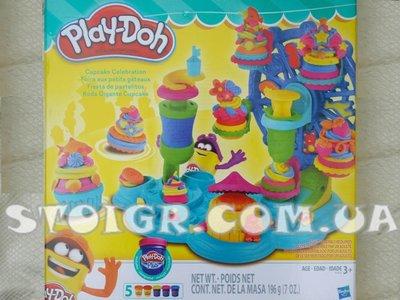Play-Doh Карнавал сладостей Play-Doh cupcake celebration playset